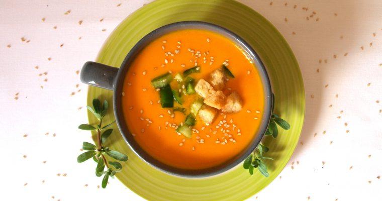 Gazpacho de zanahoria