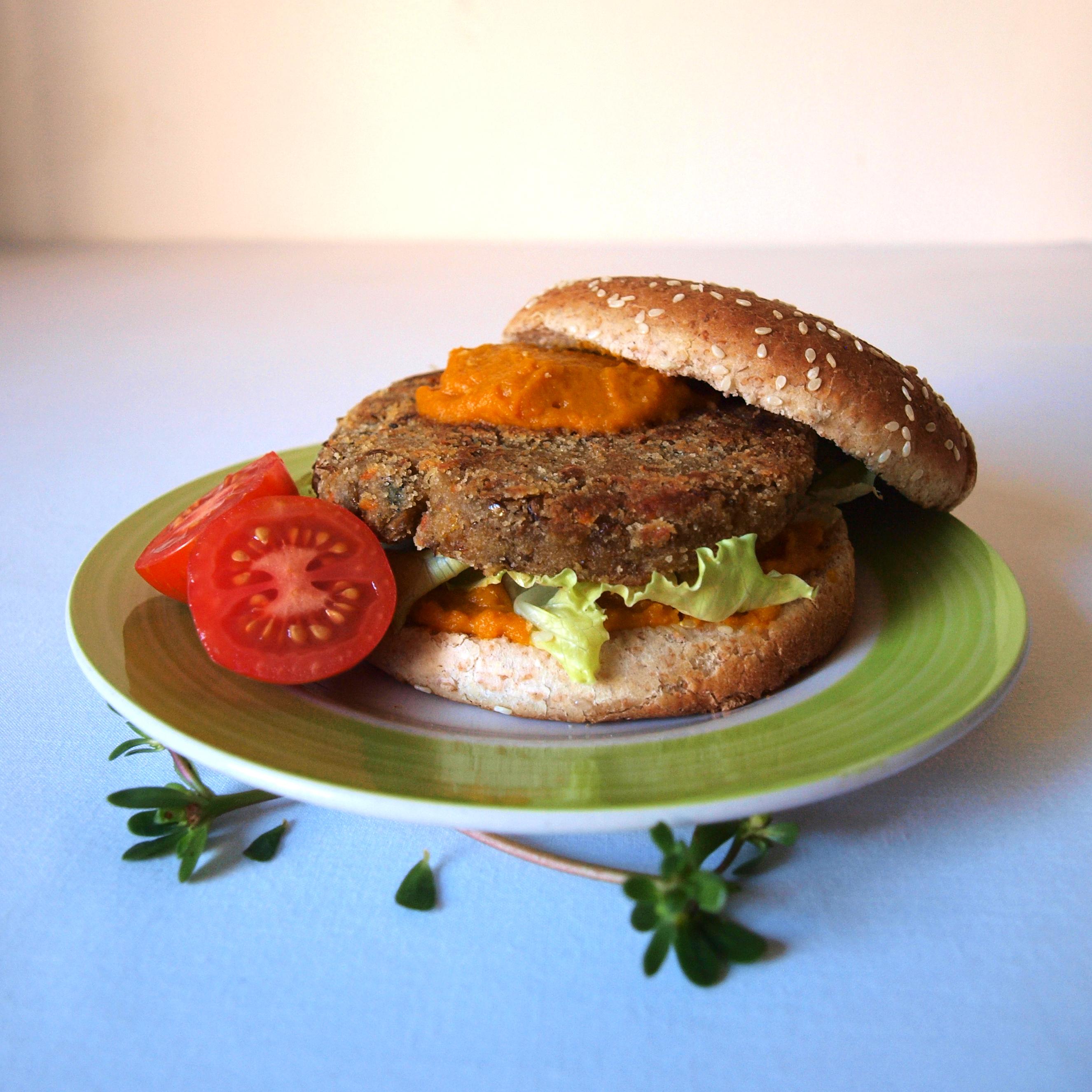 Lentejesas o hamburguesas de lentejas