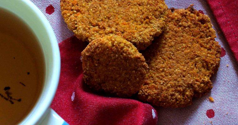 Galletas veganas de zanahoria y coco